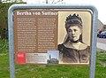 Bertha von Suttner, Nobelprijs voor de vrede.jpg