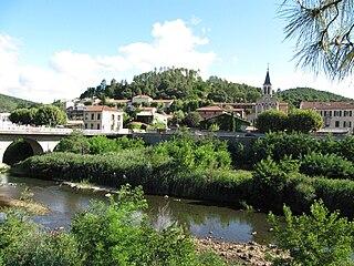 Bessèges Commune in Occitanie, France