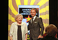 Betty White and Joey Lawrence introducing the Guide Dog category 2012.jpg