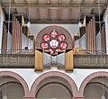 Bexbach Katholische Pfarrkirche St. Martin Innen Orgelprospekt.JPG
