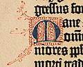 Biblia de Gutenberg, 1454 (Letra M) (21648593479).jpg