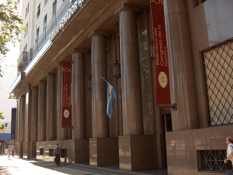 Archivo: Biblioteca del Congreso de la Nación Argentina.JPG