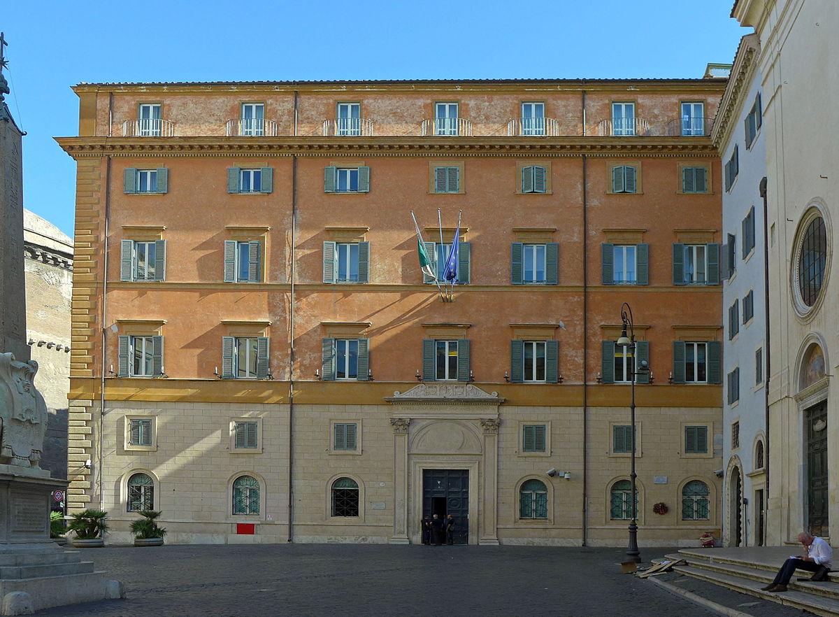 Biblioteca del senato wikipedia for Sede senato italiano