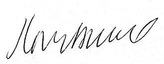 Paul Biegel - Image: Biegel handtekening
