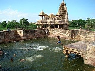 Bijolia City in Rajasthan, India