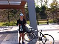 Biking towards Incheon from Seoul, Korea (9815242153).jpg
