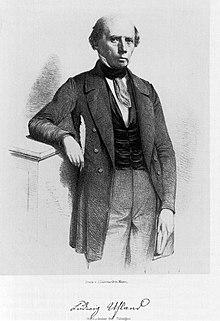 Uhland in 1848. (Source: Wikimedia)