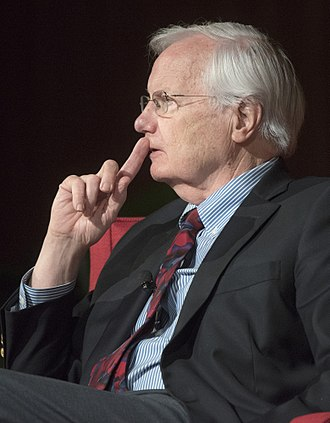 Bill Moyers - Moyers at the LBJ Presidential Library in 2018
