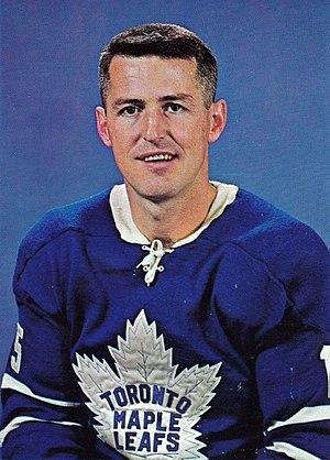 Billy Harris (ice hockey, born 1935) - Image: Billy Harris Maple Leafs Chex card