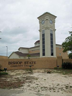 Bishop State Community College - Image: Bishop State clock tower May 2012