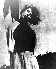 Execution of concentration camp guards at Biskupia Gorka: Becker executed