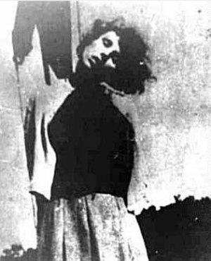 Elisabeth Becker - Execution of concentration camp guards at Biskupia Gorka: Becker executed