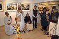 Biswatosh Sengupta Addressing - Inaugural Function - Joy Mukhopadhyay Solo Exhibition - Kolkata 2014-12-12 1121.JPG