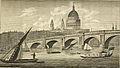 Blackfriar's Bridge and St. Pauls Church, London (1808).jpg