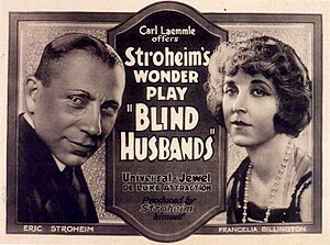 Blind Husbands - Film poster
