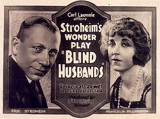Blind Husbands - Film poster