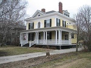 David Davis III & IV House - Image: Bloomington Il David Davis III & IV House 1