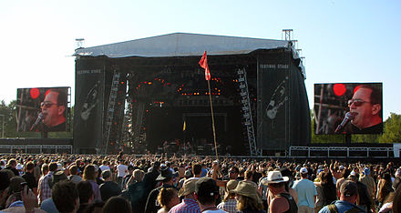 Blue Oyster Cult performing at the Sweden Rock Festival, 2008. Blue Oyster Cult Sweden Rock 2008.jpg