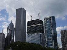 photo from sept 2008 during expansion bluecross blueshield office building architecture