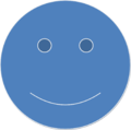 Blue Smiley Face.png