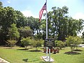 Blue Star Memorial marker, GA37, Fort Gaines.JPG