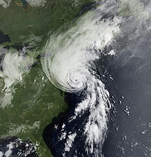 Category 3 Atlantic hurricane in 1991