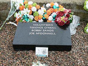 Bobby Sands - Bobby Sands's grave in Milltown Cemetery