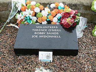 Bobby Sands - Bobby Sands's grave in Milltown Cemetery.