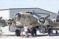 Boeing B-17G-85-DL Flying Fortress Nine-O-Nine Setup Nose CFatKAM 09Feb2011 (14983558642).jpg