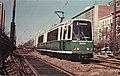 Boeing LRV at Blandford Street triple track 1977 postcard.jpg