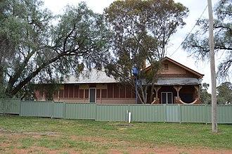 Bogan Gate - Image: Bogan Gate Police Station
