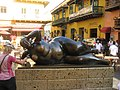 Bolero Statue, Cartagena, Colombia street scenes (23936012284).jpg