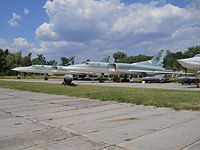 Bomber aircraft in the Ukrainian State Aviation Museum.jpg