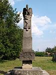 Bondyrz - Muzeum Historyczne Światowego Związku Żołnierzy Armii Krajowej Inspektoratu Zamojskiego - pomnik poległych w II WŚ pracowników fabryki (05) - DSC04039 v2.jpg