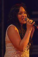 Boney M. feat. Liz Mitchell - Sabrina – Appen musiziert 2014 03.jpg