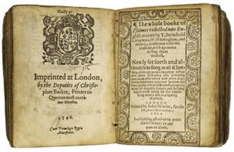 Anglican devotions - The 1596 Book of Common Prayer