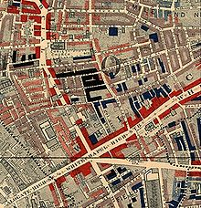 Charles Booth Map Life and Labour of the People in London   Wikipedia