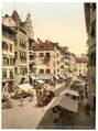 Bosen Torgglhaus and fruit market, Tyrol, Austro-Hungary-LCCN2002710998.tif