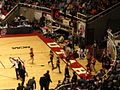 Boston College Eagles vs. University of the Pacific Tigers, First Round, NCAA Men's Basketball Tournament, Huntsman Center, University of Utah, Salt Lake City, Utah (114271487).jpg