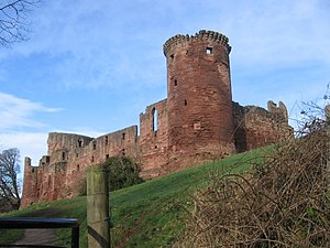 Clan Murray - The ruins of Bothwell Castle, early seat of the chiefs of Clan Murray.