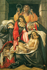 Lamentation over the Dead Christ with Saints