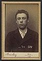 Bouchez. Louis. 19 ans, né le 29-8-75 à Paris XXe. Sculpteur. Anarchiste. 6-1-94. MET DP290206.jpg