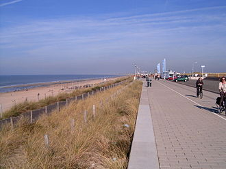 North Holland - Boulevard in Zandvoort