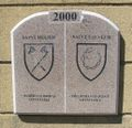 Boundary stone 2000 St Helier and St Saviour, Jersey.jpg