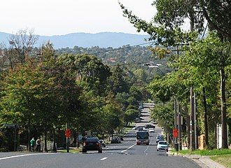 Box Hill South, Victoria - Riversdale Road