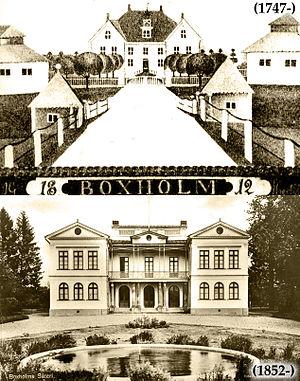 Boxholm - Boxholm manor