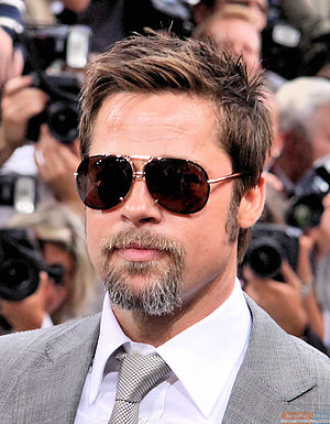 English: Brad Pitt at the Berlin premiere of I...