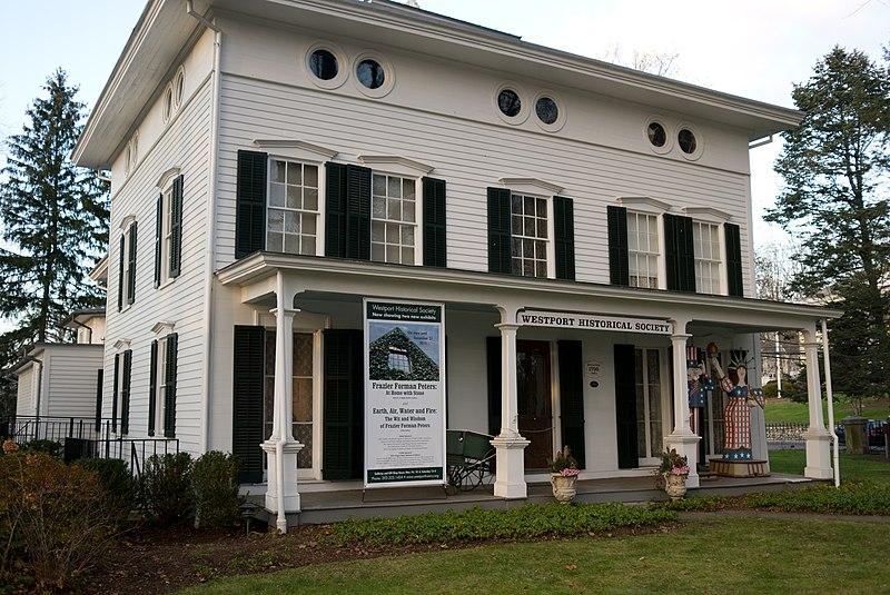 Bradley-Wheeler House, Westport, CT 01.jpg