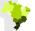 Brazilian States by Infant mortality.PNG