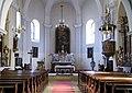 Breitenbrunn - Kirche, Innenansicht.JPG